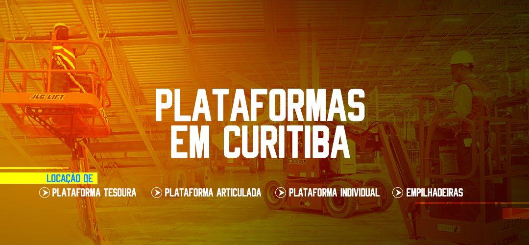 ALUGUEL PLATAFORMA AÉREA CURITIBA